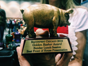Italian Village Restaurant Baconfest Award